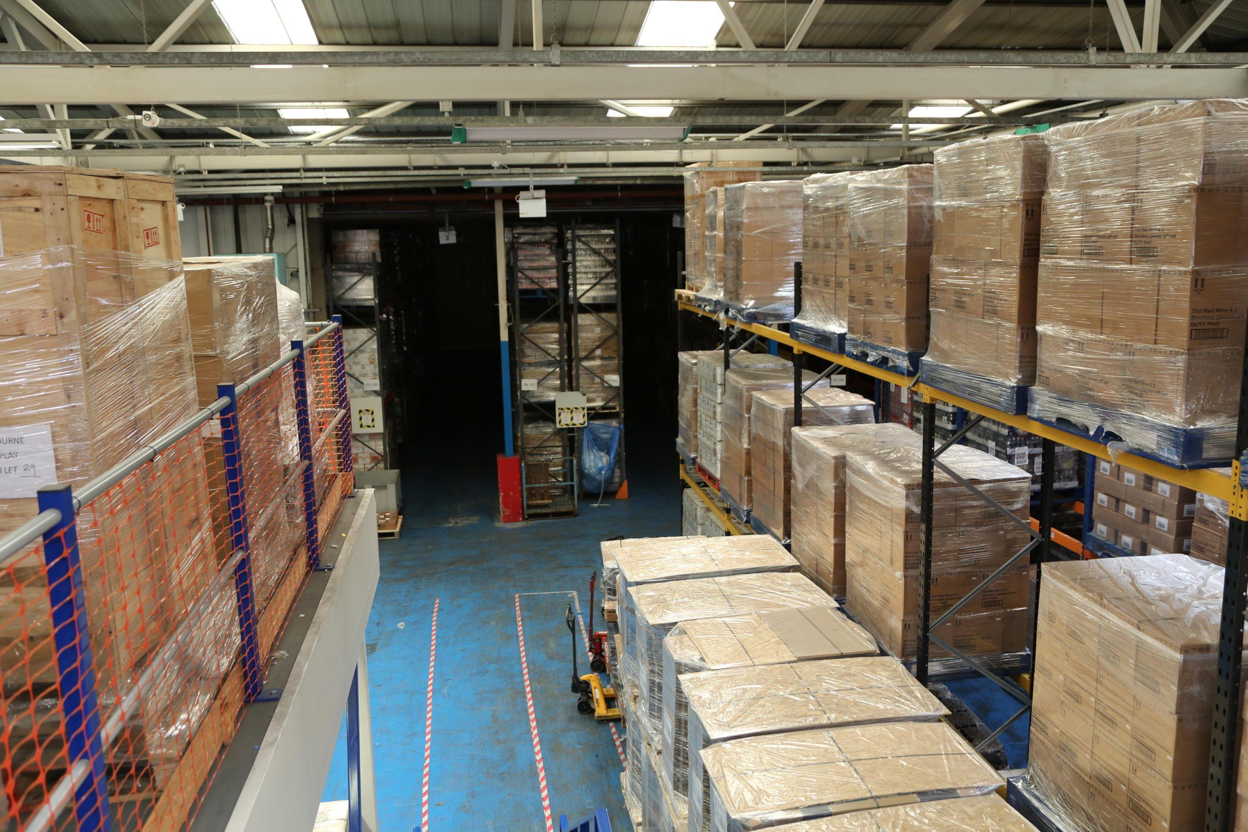 Full warehouse facilities